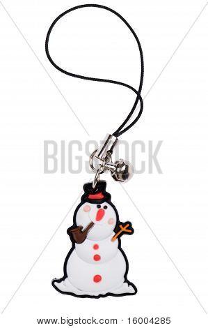 Keychain Snowman