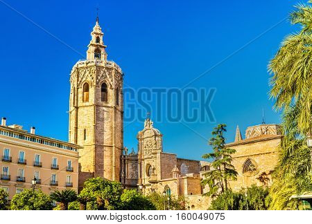The Metropolitan Cathedral-Basilica of the Assumption of Our Lady of Valencia in Spain