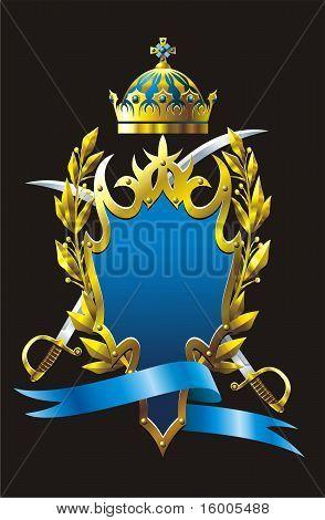 Heraldry badge