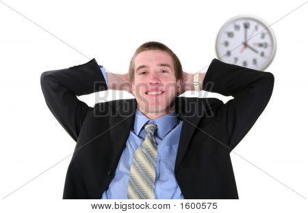 Business Man Break
