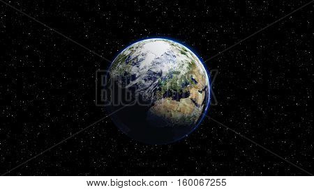 Planet Earth - Elements of this Image Furnished By NASA