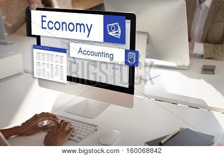 Stock Market Trade Business Analysis Investment