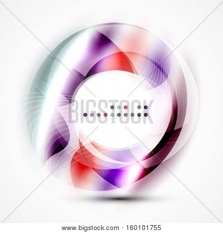 abstract blurred swirl with space for text