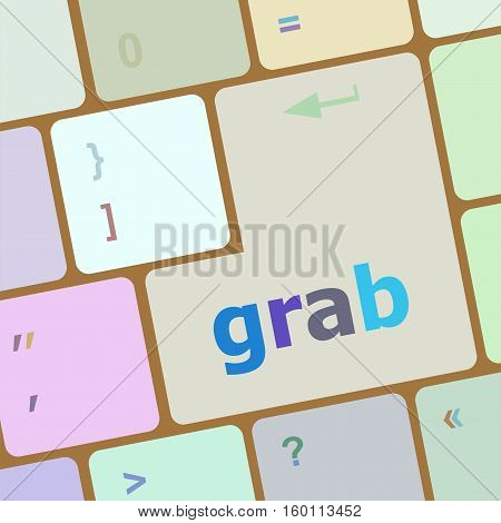 Grab Word On Keyboard Key, Notebook Computer Button