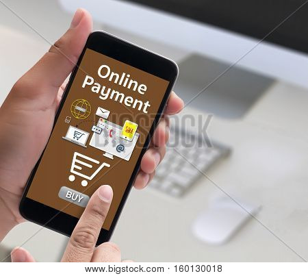 Online Payment Add To Cart Online  Order Store Buy Shop  Online Payment Shopping Business And Modern