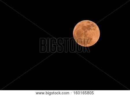Supermoon 14/11/2016 Bangkok Thailand Super moon is new Moon or full moon at its closest point to Earth