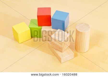 Kindergarten Spielzeug Bausteine