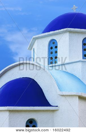 Greek Church In Ikaria Island