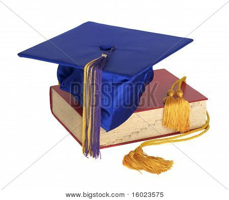 Graduation Hat and Honor Cord