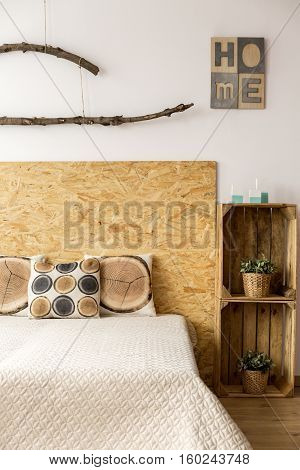King-size Bed In A Bedroom
