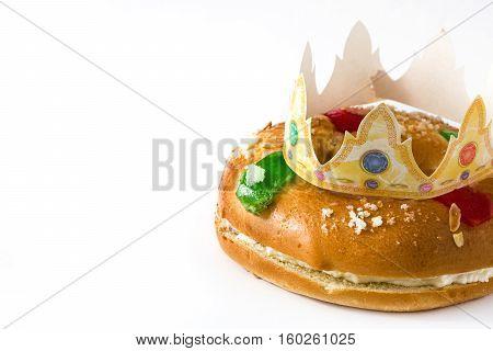 Spanish typical dessert of epiphany
