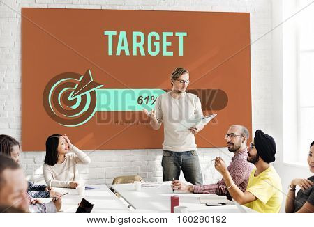 Target Success Strategy Performance Mission Concept