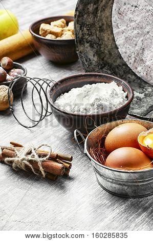 Eggs And Wheat Flour