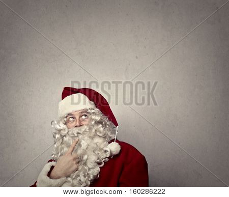 Let's think, Santa