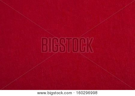 Texture of red christmas fabric / red background