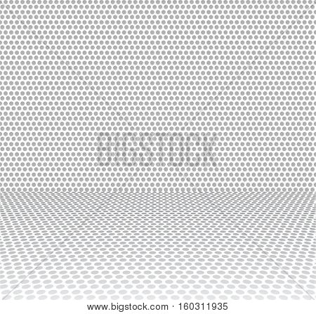 dot textured abstract background 3d
