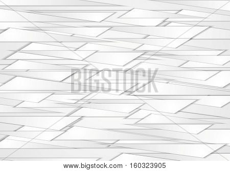 Abstract grey shapes corporate background