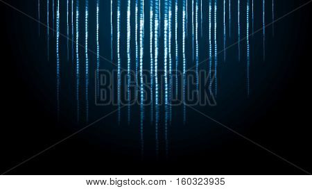 Abstract shiny sparkling light blue background