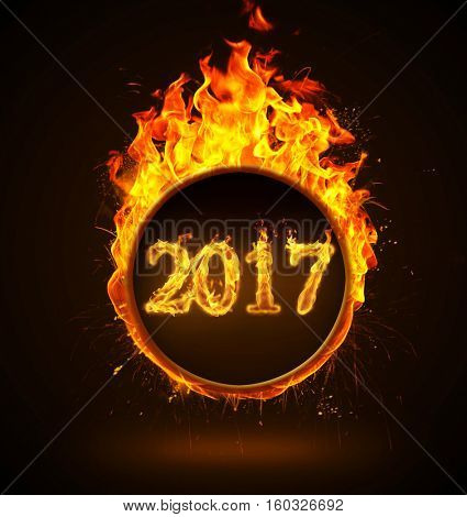 Fire round with Fire Number 2017