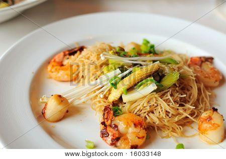 Oriental Seafood Vermicelli