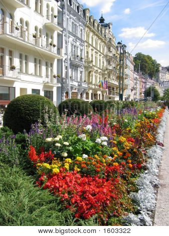 Karlovy Vary'S View, Czechia