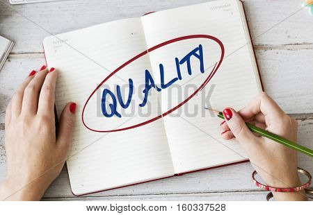 Quality Standard Rank Worth Guarantee Best Concept