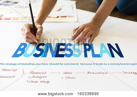 Business Startup Plan Target Concept