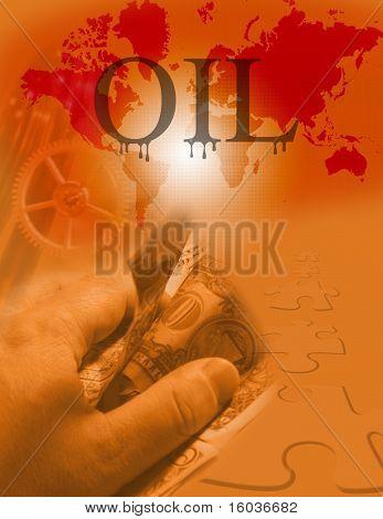 Big oil business puzzle