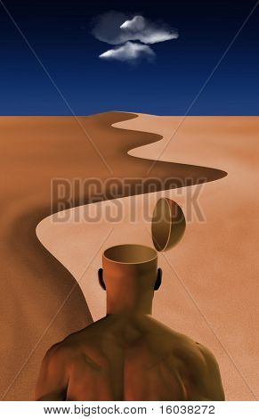 Open Mind in the desert
