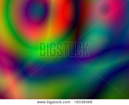 Multi hued background
