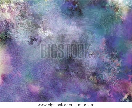 Multi hued textured background