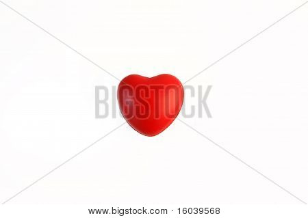 heart as flag of Japan
