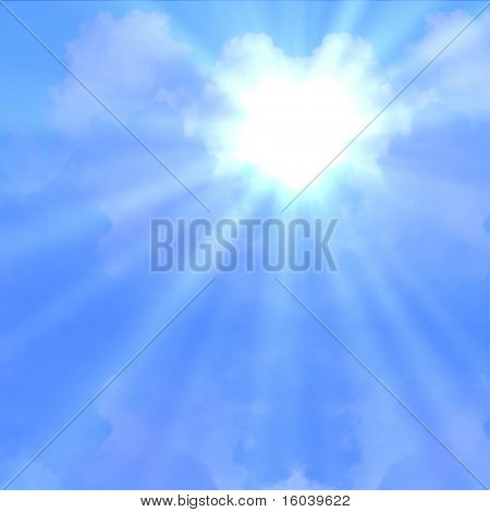 Hi-Res Beams of Light