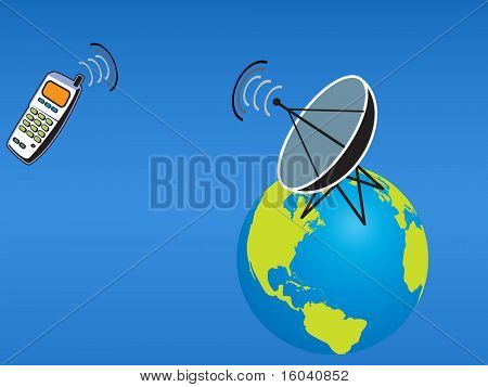 Satellite Cell Phone