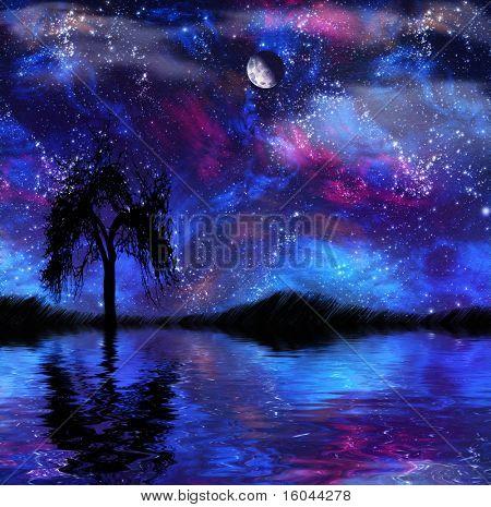 Fantasy Nightscape