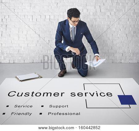 Customer Service Support Consumer Concept