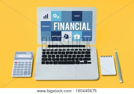 Economy Trade Accounting Finance Concept