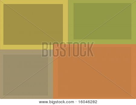 Abstract Multi Hued Horizontal Rectangular Background Composition