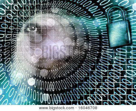 Segurança eletrônica de alta resolução