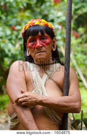 Old Amazon Indian