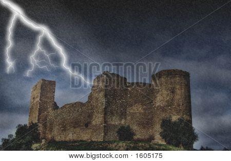 Castle Under The Storm