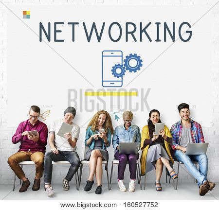Communication Connection Technology Networking Concept
