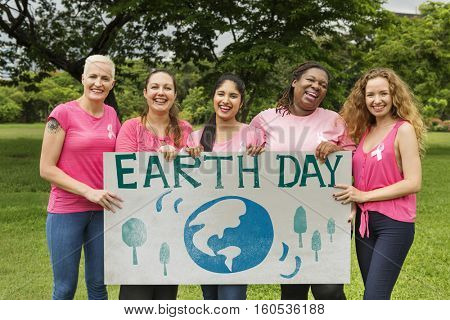 Earth Day Save Ecology Environment Conservation Concept