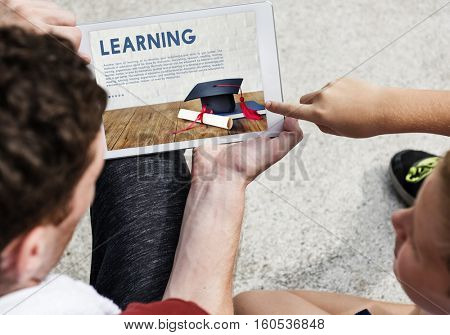 Academics School Education Mortar Board Concept