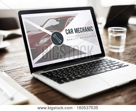 Automotive Laptop Concept
