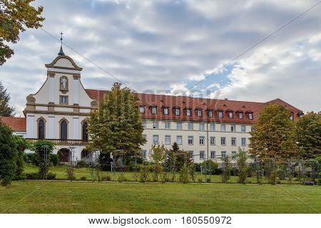 Building of former monastery Kloster Maria Hilf Buhl Germany