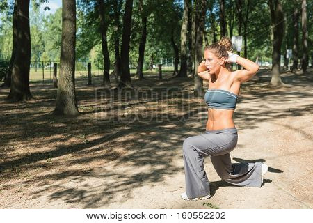 Front Lunges