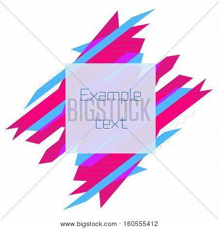 Limited Offer Mega Sale geometrical ultra modern banner. Sale poster. Big sale, special offer, discounts Vector illustration