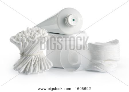 White Spa And Hygiene Accessories
