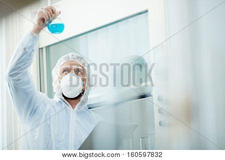 Studying toxic substance